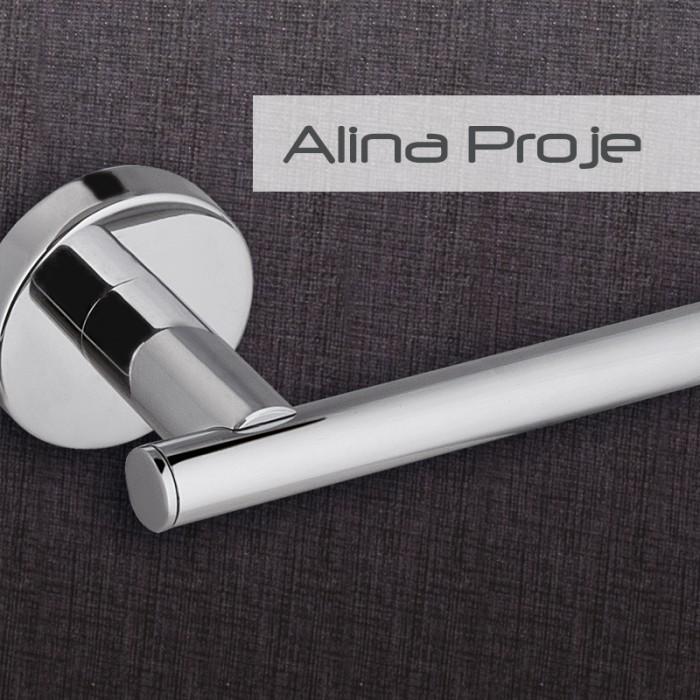 Kağıtlık Dekor Alina Proje - Krom