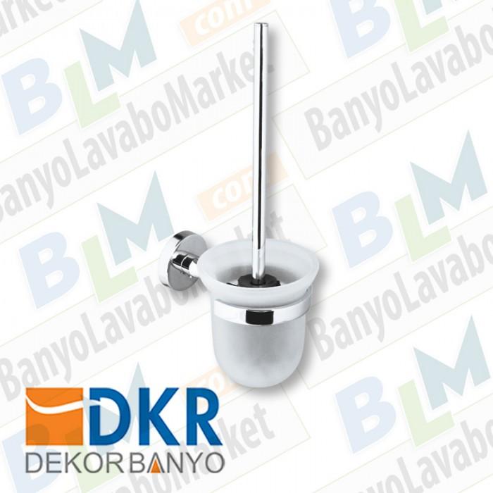Tuvalet Fırçası Dekor Alina Proje - Krom