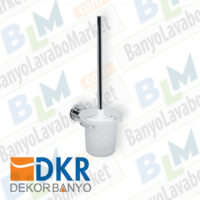 Tuvalet Fırçası Dekor Belezza - Krom