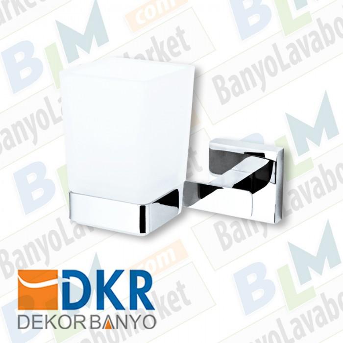 Diş Fırçalık Dekor Corner Lux - Krom