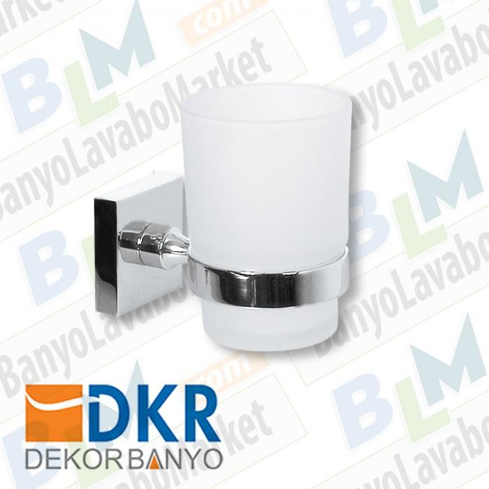 Diş Fırçalık Dekor Corner - Krom