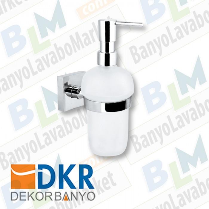 Sıvı Sabunluk Dekor Corner - Krom
