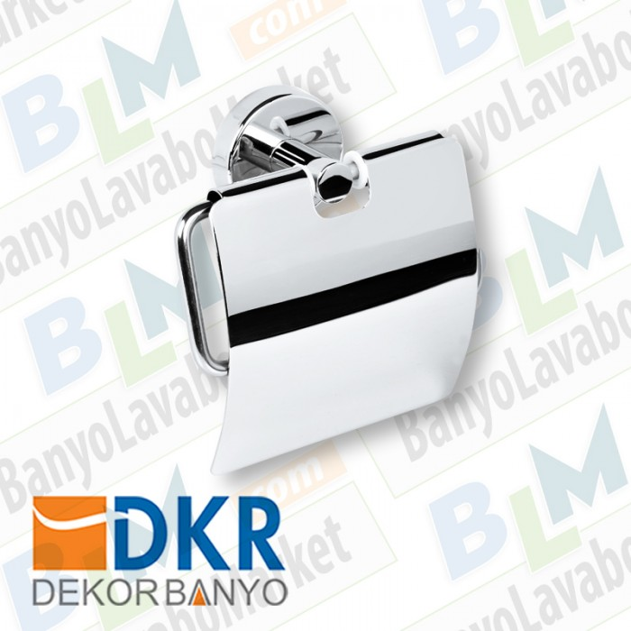 Kapaklı Kağıtlık Dekor - Ezgi Plus - Krom