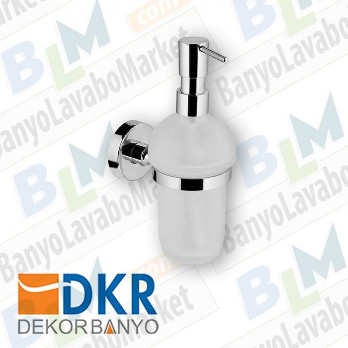Sıvı Sabunluk Dekor Ezgi Plus - Krom