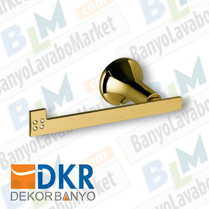 Kağıtlık Dekor Golden Kristal - Altın