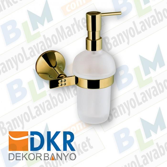 Sıvı Sabunluk Dekor Golden Kristal - Altın