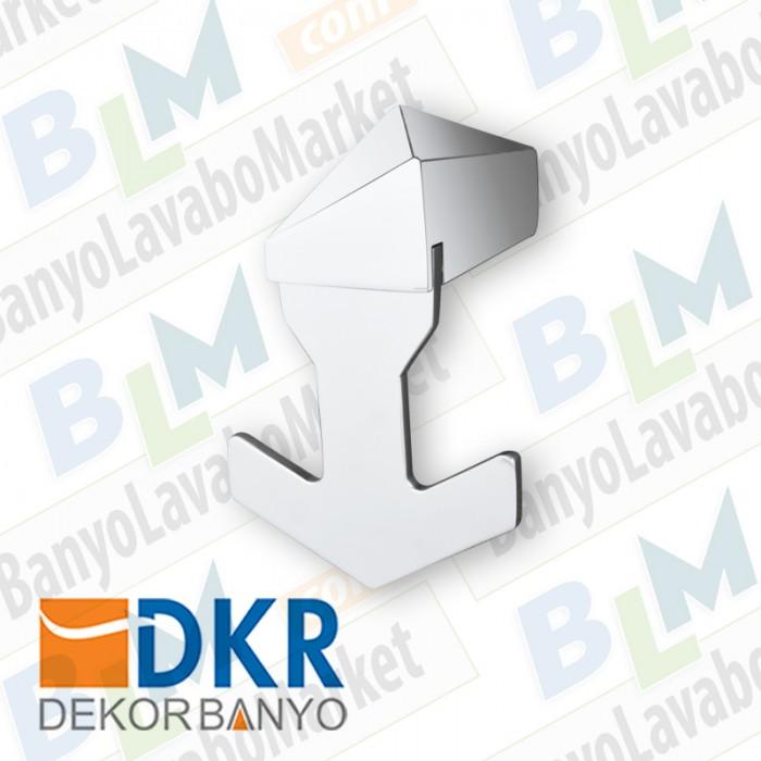 İkili Askı Dekor Kuvars - Krom