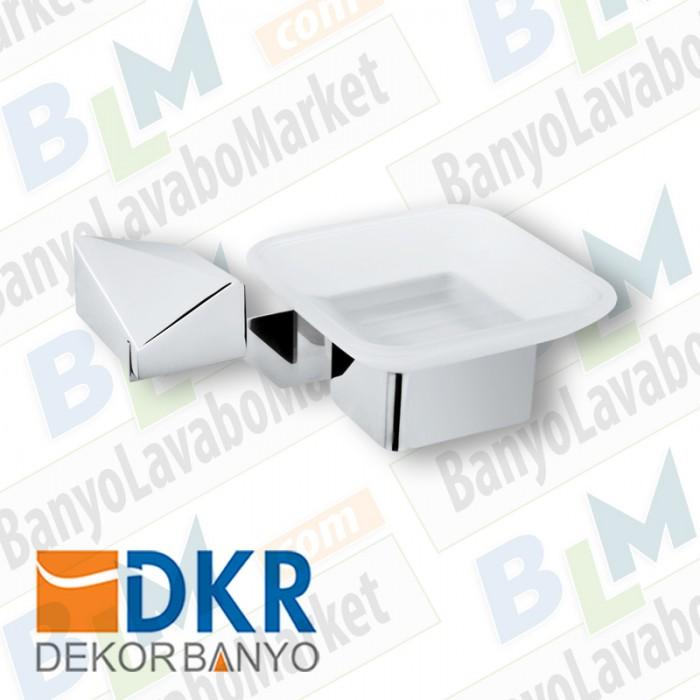 Sabunluk Dekor Kuvars - Krom