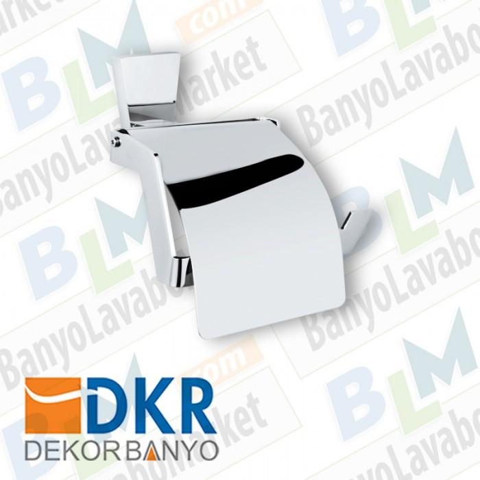 Kapaklı Kağıtlık Dekor Lizbon - Krom