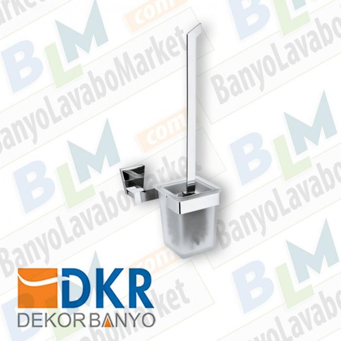 Tuvalet Fırçası Dekor Lizbon - Krom