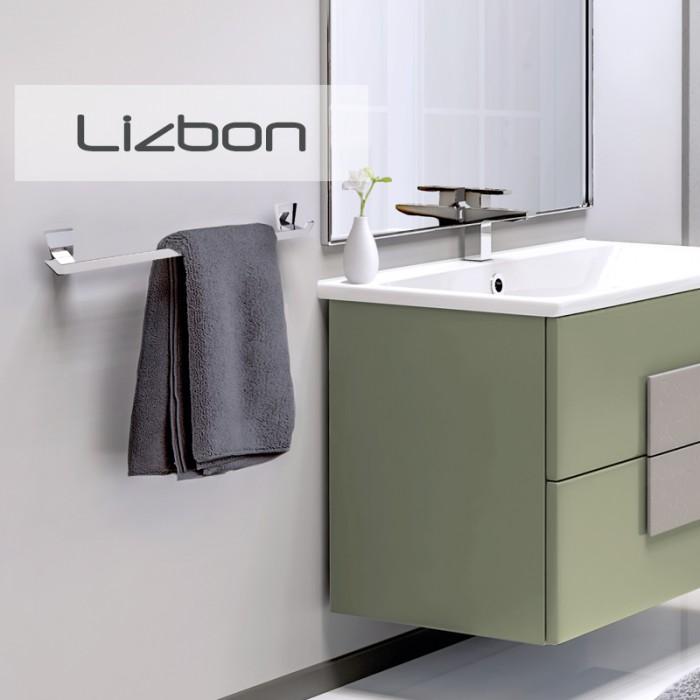 Diş Fırçalık Dekor Lizbon - Krom