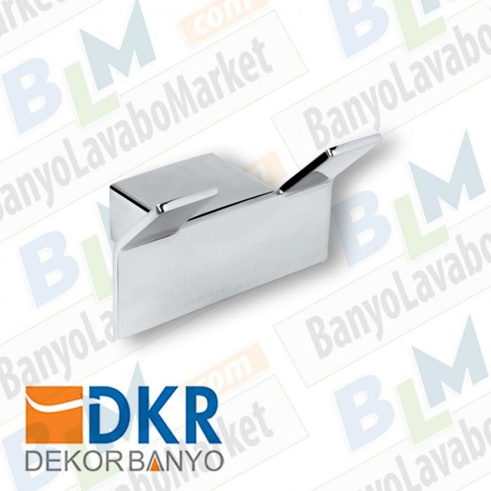 İkili Askı Dekor SS-304 - Krom