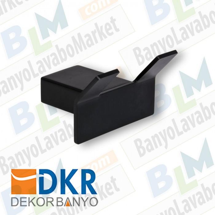 İkili Askı Dekor SS-304 - Siyah