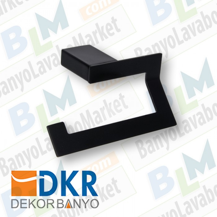 Kağıtlık Dekor SS-304 - Siyah
