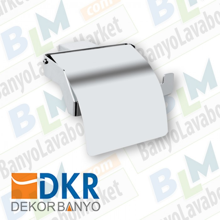 Kapaklı Kağıtlık Dekor SS-304 - Krom