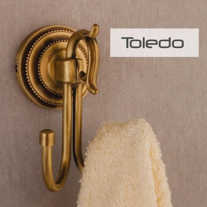 Diş Fırçalık Rozetli Dekor Toledo - Antik
