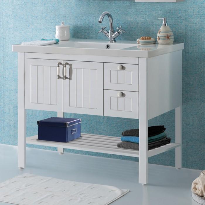 Banyo Dolabı Efes 100v1 - Badella Klasik