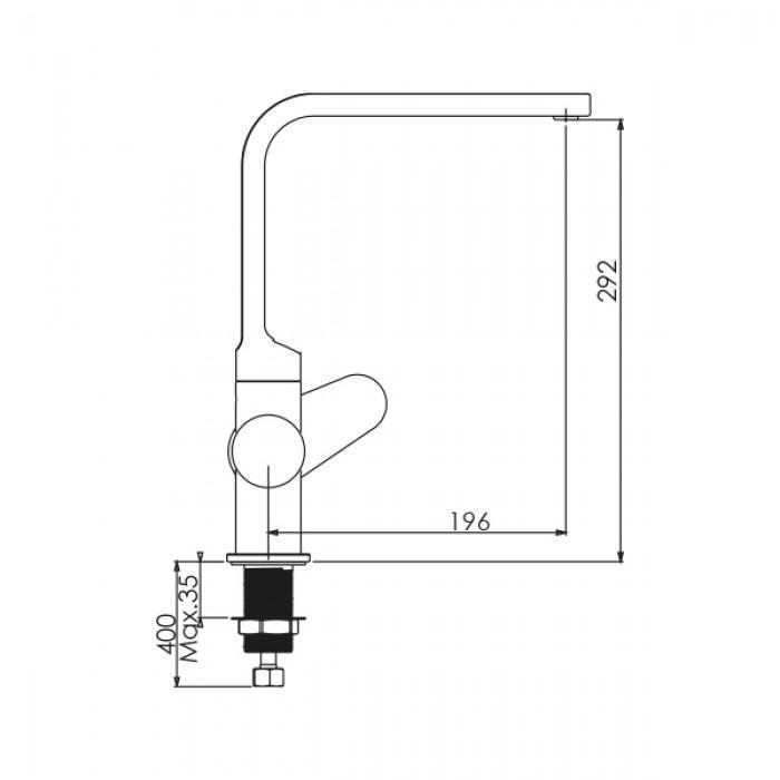 Mutfak Bataryası NSK Alora - Krom
